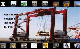 drs rubber sts industrial cranes applied in different industries