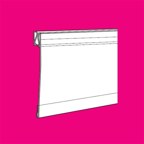 Hinged Shelf by Hinged Shelf Talker Fulton Point Of Sales Accessories