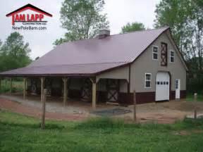 garage barn barn polebarn building gilbertsville tam lapp