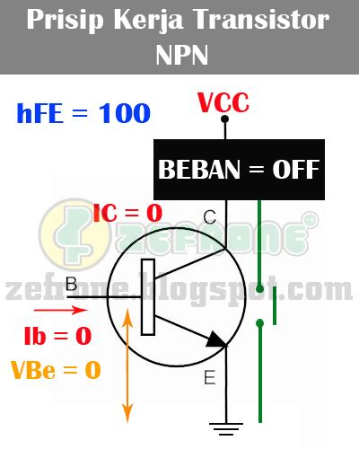 cara kerja transistor bipolar npn prinsip kerja transistor bipolar zefrone