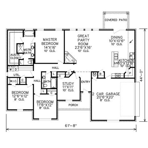 perry home plans floor plan 7983