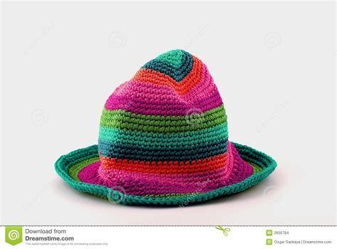colorful knit hats colorful knit hat stock images image 2600784
