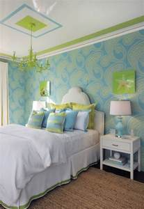 Ballard Design Bedding turquoise and green teen girl s room contemporary