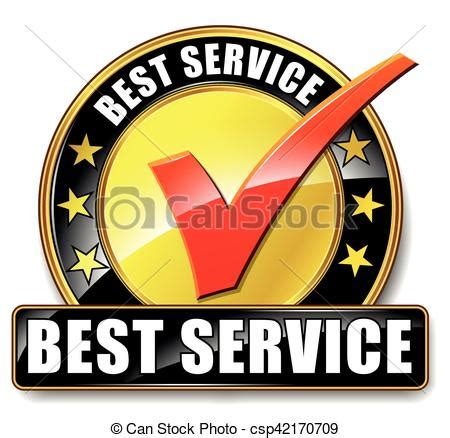 Best Search Service Vector Clipart Of Best Service Icon Illustration Of Best Service Icon On