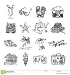 Summer Sketches 82 by 49 Best Summer Doodles Images Doodles Drawing Ideas