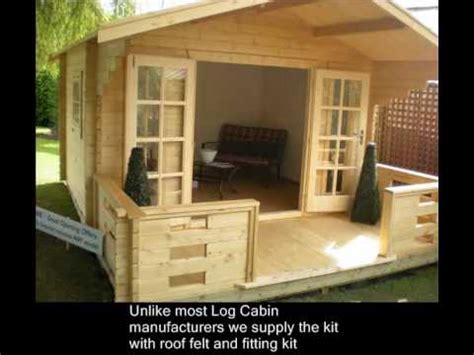 build  log cabin  summerhouse   garden