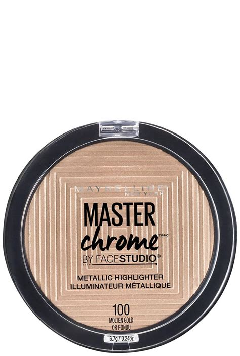 Maybelline Master Chrome studio master chrome metallic highlighter makeup