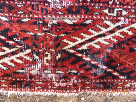 mottenbefall teppich antiker orient teppich teke buhara turkman 391cm