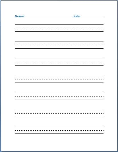 handwriting practice template search results calendar 2015
