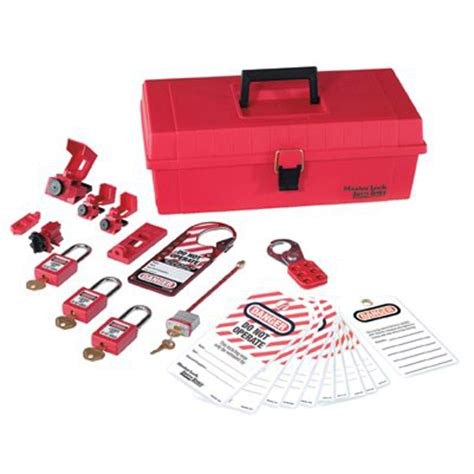 Masterlock 1458ve410 Lockout Kits lockout tagout kits master lock 1457e410ka electrical personal lockout kit