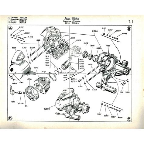 Spare Part Vespa Lx catalogue of spare parts scooter vespa 125 vna mod 1957