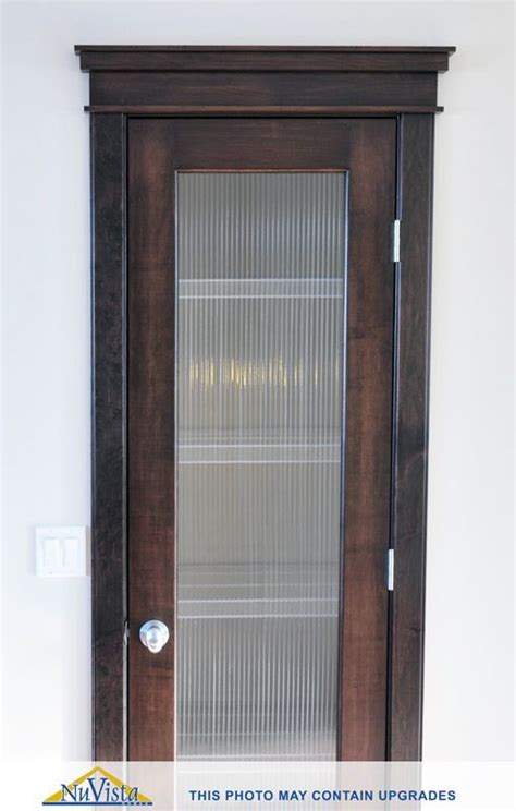 Nuvista Glass Pantry Door Calgary Ab Kitchens Glass Doors Calgary