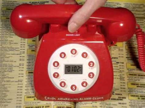 rude telephone talking clock wmv