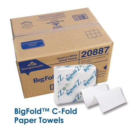 bigfold c fold paper towels orthodontic supply