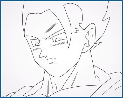 imagenes en blanco de dragon ball z bocetos y fotos para pintar de dragon ball z imagenes de