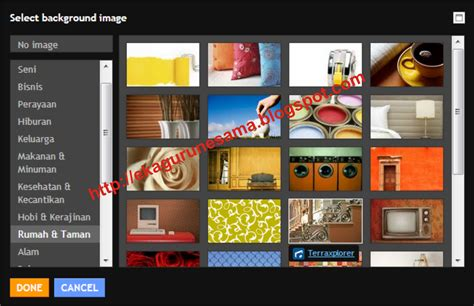 menu untuk mengatur layout dokumen adalah cara mengganti template dengan template rancangan blogger