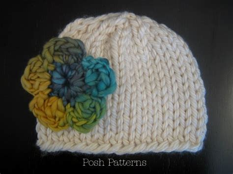 knitting beanie easy knit hat pattern for all ages