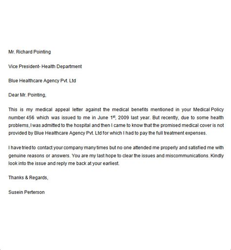 Appeal Letter Unitedhealthcare Sle Appeal Letter 7 Free Documents In Word