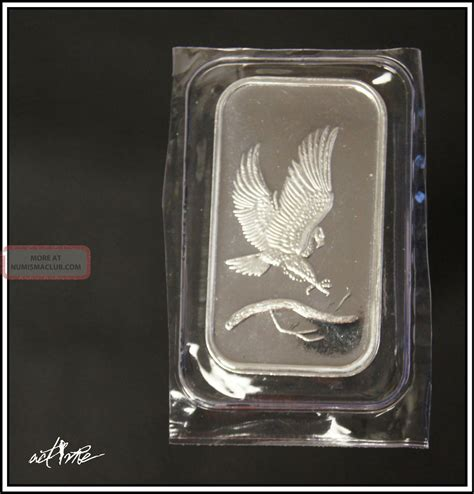 1 Troy Ounce Silver Bar - 1 oz 1 troy ounce 999 silver bar bullion