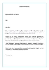 Resignation Letter To Clients Sle by How To Write A Resignation Letter Best Business Template