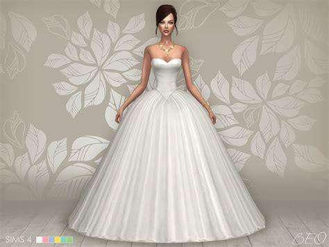 Dress Cc cc finds wedding dress s4 ts4 clothing