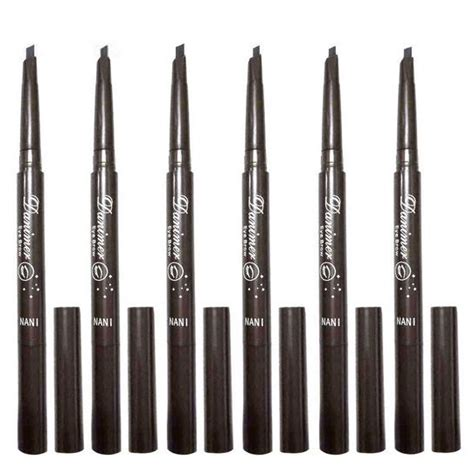 Pensil Alis Mukka Black Perfection Eyebrow danimer pensil alis brush anti keringat waterproof black jakartanotebook
