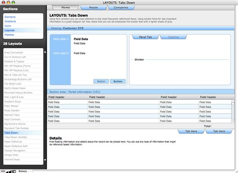 Filemaker Templates Resources Tools Filemakertemplates Com Theme Library Filemaker Pro Templates
