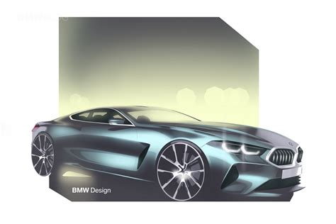 8 Series Sketches by World Premiere Bmw 8 Series A Comeback Bmw