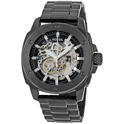 Fossil Machine Automatic Me3080 fossil modern machine automatic skeleton s me3080 machine fossil watches