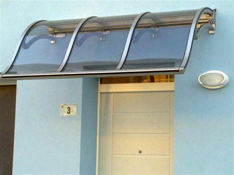 capottina parapioggia per porte e finestre pensiline cesena rimini prezzi installazione pensilina