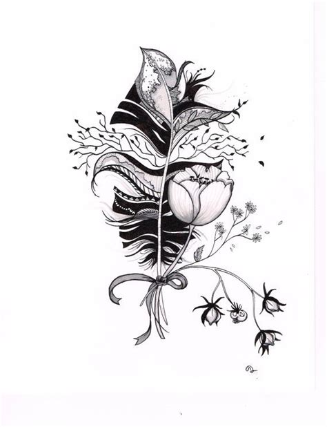 india ink tattoo original india ink drawing or design by slowdesigns