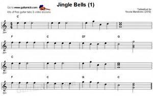 Pics photos jingle bells easy guitar tab chords guitarnick