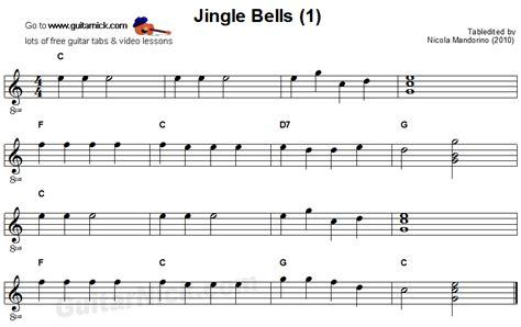 testo easy jingle bells easy guitar lesson guitarnick