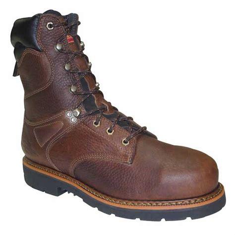 insulated steel toe boots thorogood usa 8 inch insulated steel toe work boot