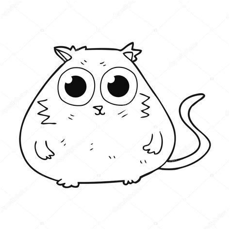 imagenes de ojos grandes y bonitos gato blanco y negro de dibujos animados con grandes ojos