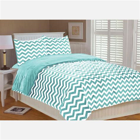 Bedding Set Twin Aqua By Thro Fab Com