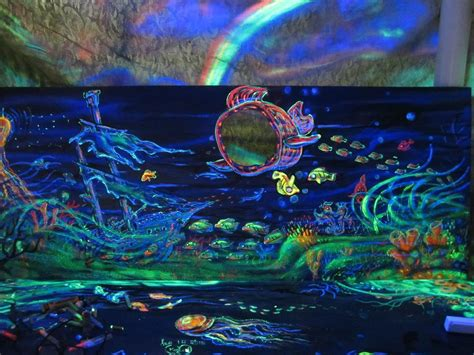 glow in the paint tips 3d glow in the painting biomes marine