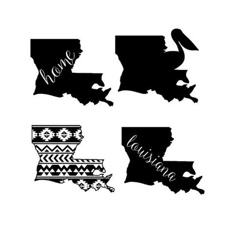 design your own home louisiana louisiana state designs svg and studio files by