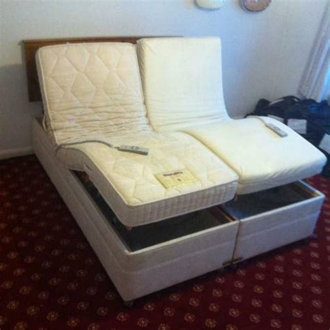 double adjustable electric beds ebay