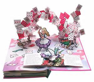 pop up book alice s adventures in wonderland book by lewis carroll
