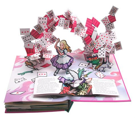i you a pop up book books s adventures in book by lewis carroll