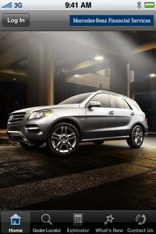 Mercedes Financial Phone by Mercedes Financial Services App For Iphone And Users