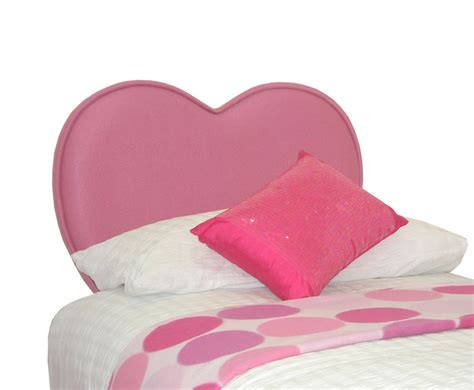 childrens headboards sweetheart girls pink upholstered headboard
