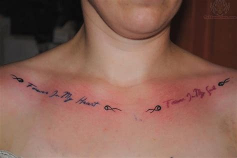 collarbone tattoos collarbone images designs