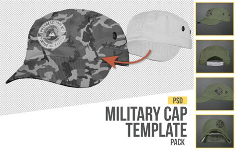 military templates for photoshop the best 7 photo real hat and cap templates ever created