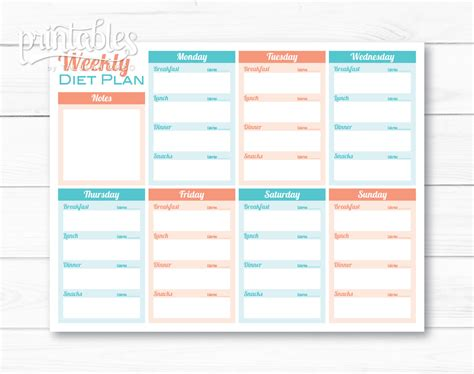 meal planner for weight loss template meal planner for weight loss template printable meal planner