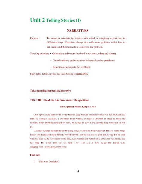 biography text materi materi buku look ahead sma x 10