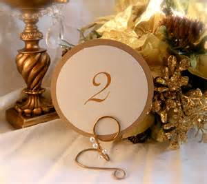 formal elegant wedding decor table number holders with pearl
