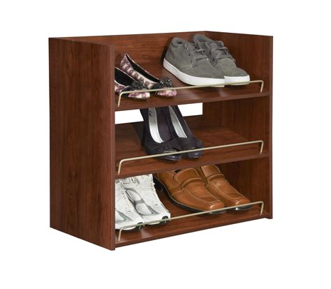 rustic wooden materials with shoe rack design popular nice wooden shoe rack with sloping runway style popular