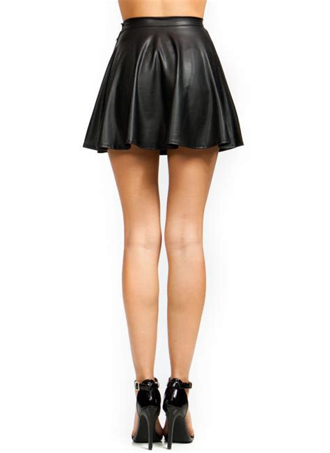 skirts maxi skirts in faux leather lace more